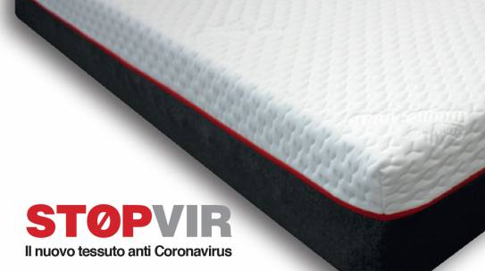 STOP VIR è il nuovo tessuto anti Coronavirus